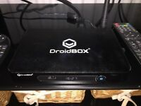 DriodBox with remote and keypad