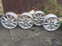 """Porsche BBS 19"""" wheels (Genuine)"""