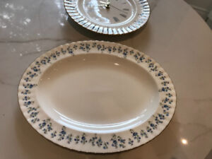 Household items including Royal Doulton