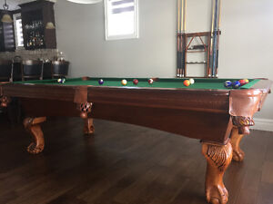 High quality Luxurious Pool Table w/Table Tennis Top - DELIVERED