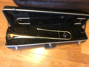 Trombone with Case - stop paying rental fees!