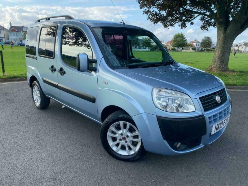Fiat Doblo 1.4 8v Dynamic WHEELCHAIR ACCESS VEHICLE - 22,000 MILES - PRISTINE