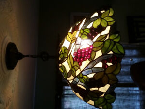 Stained Glass, Large hanging lamp. ☆Beautiful☆