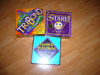 Mint condition board games