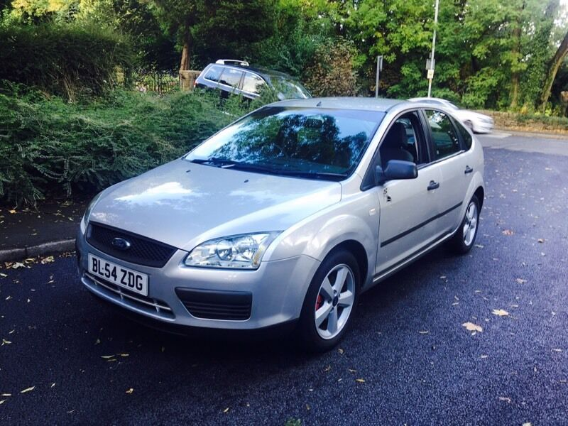 2005 Ford Focus 1.6 Tdci Turbo Diesel Silver Metallic