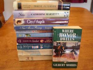 Lot of 11 Christian Fiction Novels / Books