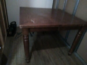Solid Wood Dining Table--Free Delivery IN HRM