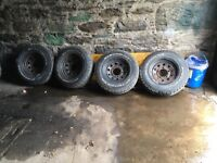 Landrover series wheels