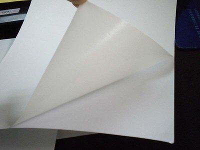 8.5x11 Glossy Photo Sticker Paper 20 Sheets For Inkjet Printers Full Sheet
