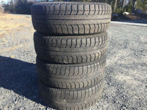 Four 195/60R15 Winter Tires