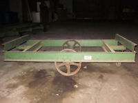 Solid Steel Wagons - 3 available