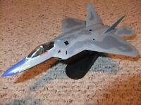 F-22A RAPTOR- HOBBY MASTER 1/72ND SCALE DIECAST AIRPLANE .OBO.