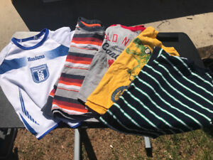 Whole lots of 5T boys clothing