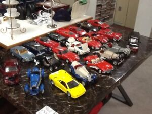older 1:18 scale diecast cars
