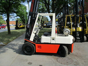 Nissan Forklift 6000Lb capacity,Indoor and out door