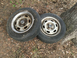 2 civic or accord wheels from 70's or early 80's
