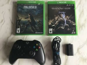 Manette, piles rechargeableShadow of War, Final Fantasy…