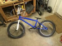 Haro 300.2 BMX bike + added parts