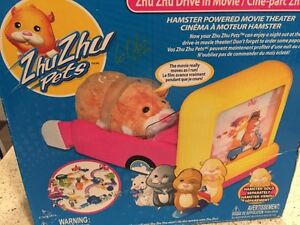 Zhu Zhu Pets Hamster DRIVE IN MOVIE THEATER Play Set