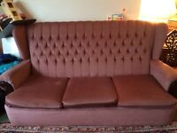FREE vintage sofa suite
