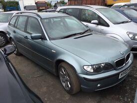 BREAKING BMW 3 SERIES 2003 E46 320i TOURING ESTATE
