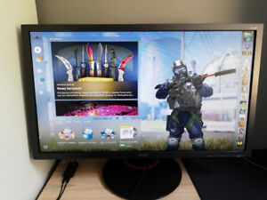 "Acer 24"" XF240H 144hz Gaming Monitor w/ receipt!"