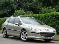 2006 Peugeot 407 SW 2.2HDi 170 Sport***LOW MILES 79K +2 KEYS***