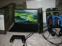 New PS4 with BO3 + Acer Aspire ES15 + HD201'S For Gaming Laptop