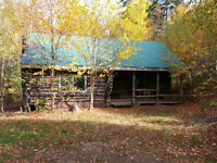 Chalet Style Log Cabins for rent in Pictou County