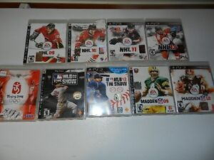 Lot of PS3 games - great condition