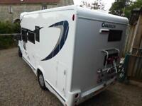 Chausson Flash 616 5 berth coachbuilt low profile motorhome for sale ref 16094
