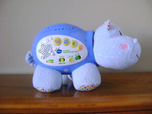 """VTECH LIL""""CRITTER SOOTHING STARLIGHT HIPPO"""