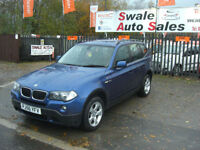 2006 BMW X3 2.0d SE 4X4 ONLY 101,245 MILES, FULL SERVICE SERVICE HISTORY