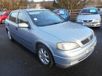 Vauxhall/Opel Astra 1.7DTi 16v 2002MY Club