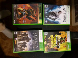 Xbox 360 games $7.50 or 3 for $20