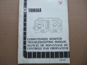 1983 YAMAHA MOTORCYCLE TROUBLESHOOTING MANUAL