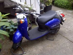 Yamaha scooter & a custom built softail possible trades for?