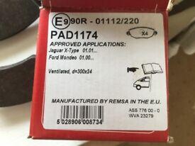 Ford Mondeo brake pads