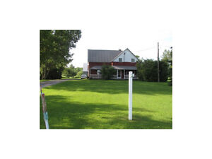 NEW PRICE REDUCED TO SELL 43+ ACRES, BARN, & FARM HOUSE