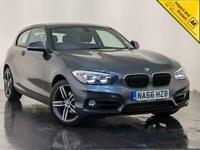 2017 66 BMW 118D SPORT AUTO SAT NAV AIR CON £20 ROAD TAX 1 OWNER SERVICE HISTORY