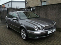 07 57 JAGUAR X-TYPE 2.5 V6 SPORT SE ESTATE AUTO 4WD SATNAV HEATED LTHR HUGE SPEC