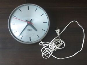 Vintage (1950s) IBM Wall Clock - rare find - working