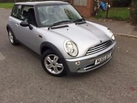 MINI COOPER 2006 55 PLATE SILVER 2 OWNERS FROM NEW SERVICE HISTORY MOTED