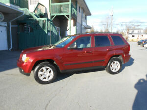 2008 JEEP GRAND CHEROKEE 5 DOOR SUV, 3 YEAR WARRANTY IN