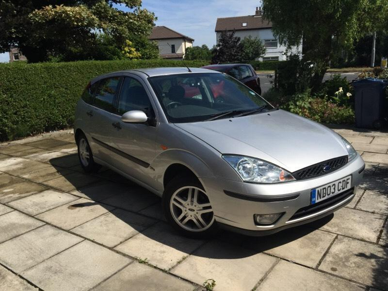 2003 1 6 ford focus silver in ormskirk lancashire gumtree. Black Bedroom Furniture Sets. Home Design Ideas