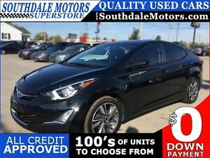 2016 HYUNDAI ELANTRA GLS * 1OWNER * REAR CAM * BLUETOOTH * SUNRO London Ontario image 1