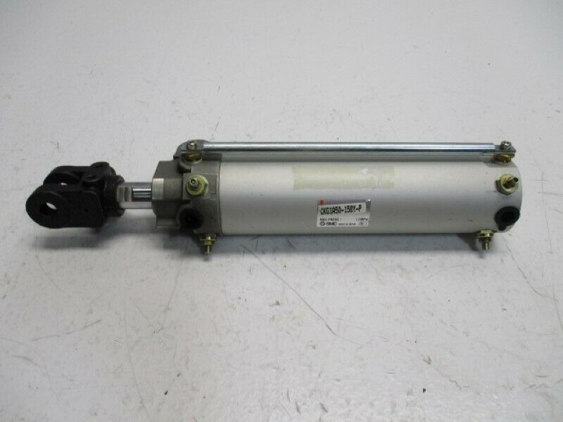 SMC CKG1A50-150Y-P CYLIDNER * USED*