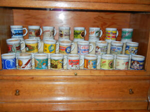 "Collection de tasses de porcelaine ""The Corner Store"""