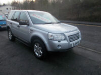 LAND ROVER FREELANDER GS TD4 4X4 ESTATE 73,000 MILES SERVICE HISTORY MET PAINT