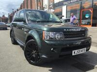 2009 LAND ROVER RANGE ROVER SPORT 3.0 TDV6 SE 5d AUTO COMMAND SHIFT BLACK ALLOYS
